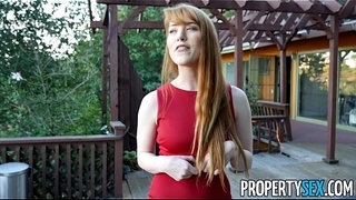 PropertySex---Hot-redhead-real-estate-agent-performs-sexual-favors