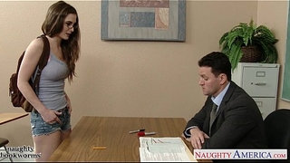 Sexy-coed-in-glasses-Molly-Jane-fuck-in-classroom