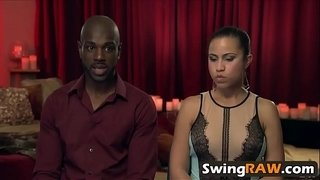 White-and-black-couples-having-swinging-fun