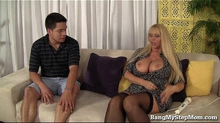 Voluptuous-MILF-Has-Sex-With-Step-son!