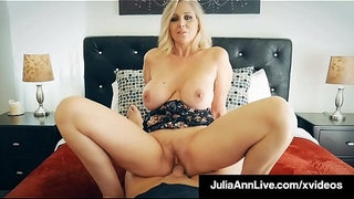 Cock-Hungry-Cougar-Julia-Ann-Muff-Stuffed-By-Hard-Cock-Fan!