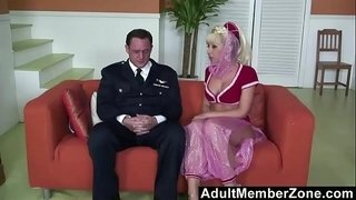 AdultMemberZone-–-Slave-genie-grants-her-masters-wish-of-a-threesome.