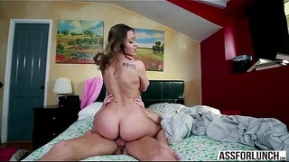 Big-ass-chick-Dani-Daniels-gets-her-pussy-rammed-in-doggystyle-by-her-hot-guy