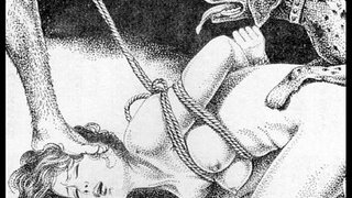 Slaves-to-rope-japanese-art-bizarre-bondage-extreme-bdsm-painful-cruel-punishment-asian-fetish