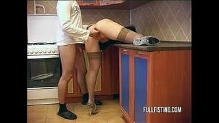 Bitching-Teen-Slut-Hardcore-Kitchen-Ass-Fucking