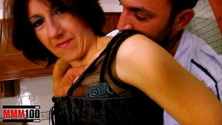 Mature-housewife-ass-fucked-in-the-kitchen-and-facial-cumshot