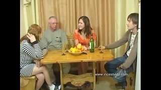 FamilySex---Usual-family-dinner-turns-into-a-party