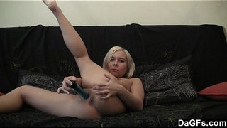 Blue-dildo-vs-young-pussy