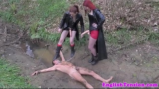 Gothic-bdsm-bitches-get-boots-licked-clean
