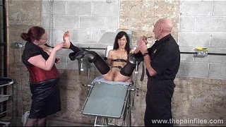 Feet-tortures-of-slave-Elise-Graves-in-dungeon-bondage-and-gruesome-foot-fetish