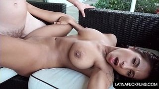Latina-Begs-for-Cum-on-her-Face-and-Tits