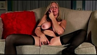 Saucy-old-spunker-in-stockings-loves-to-fuck-her-juicy-pussy-for-you