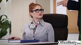 Hard-Sex-Tape-In-Office-With-Big-Round-Tits-Sexy-Girl-(Lennox-Luxe)-video-19