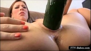 Excited-big-titted-girl-masturbates-with-cucumber