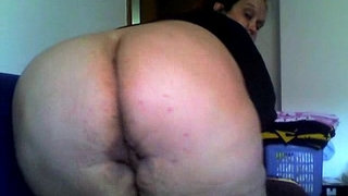 """Dirty-""""Sandra-showing-big-ass-pussy-on-cam"""