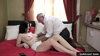 Busty-19yo-Russian-Sheril-Blossom-suck-off-and-rides-grandpa