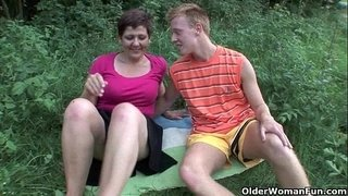 Mom-will-drain-your-balls-in-the-great-outdoors