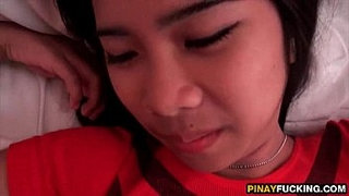 Filipina-Akira-Blows-And-Fucks-A-White-Dick