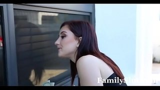 Brother-Seduced-By-Slutty-Stripper-Sis-|-FamilySlut.com