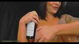 Busty-Muscular-Milf-Fucks-Pussy-And-Ass-With-Dildos