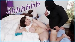 Bangbros---big-tits-milf-sara-jay-fucks-thief-while-boyfriend-sleeps