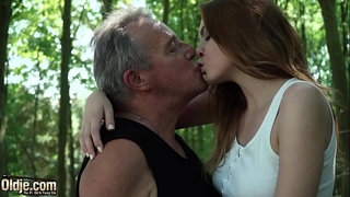 Sexy-young-redhead-seducing-grandpa-and-has-incredible-sex-with-him