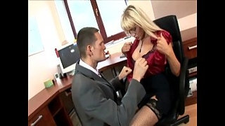 Secretary-in-thigh-highs-fucking-at-the-office