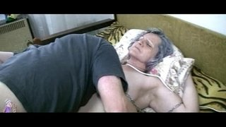 Old-granny-get-pussy-licked-by-young-guy