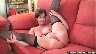 British-milf-Joy-exposing-her-big-tits-and-hot-fanny