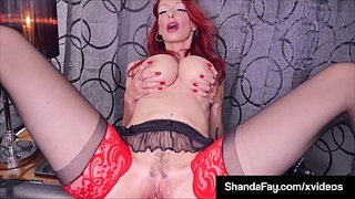 Smoking-&-Squirting-Fans-Enjoy-As-Housewife-ShandaFay-Fucks!