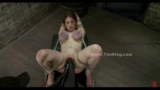 Redhead-sex-slave-in-a-cell-humiliation