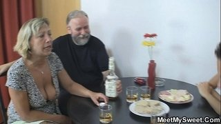Czech-blonde-involved-into-family-threesome