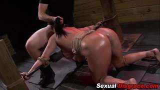 Throated-slave-fucked