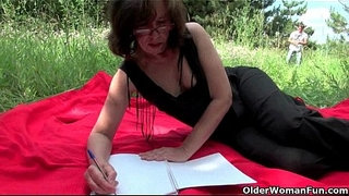 The-great-outdoors-wets-grandma's-appetite-for-cock-and-cum