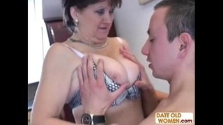 Russian-granny-fucked-on-the-kitchen-table