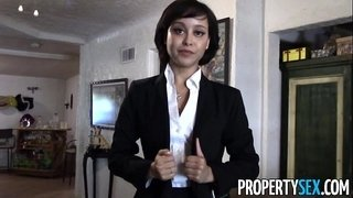 PropertySex---Cute-real-estate-agent-makes-dirty-POV-sex-video-with-client