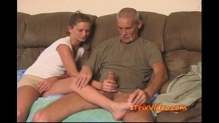 Daddy-fucks-Daughter-while-mom's-at-work