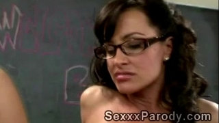 Sexy-teacher-with-glasses-sucks-off-and-gets-pumped-in-XXX-parody